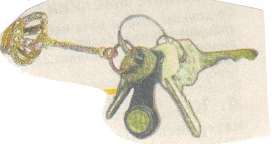 тест по связке ключей