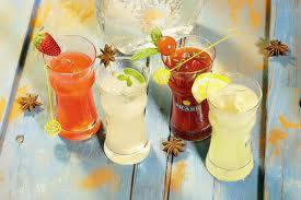 ягодный коктейль