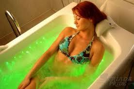 лечебная цветная ванна