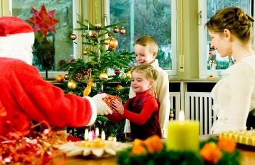 сценарий нового года 2012 дома
