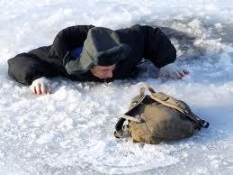 опасность водоемов зимой