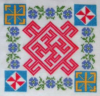 славянский символ женского здоровья  и Цвет Папоротника - мужского