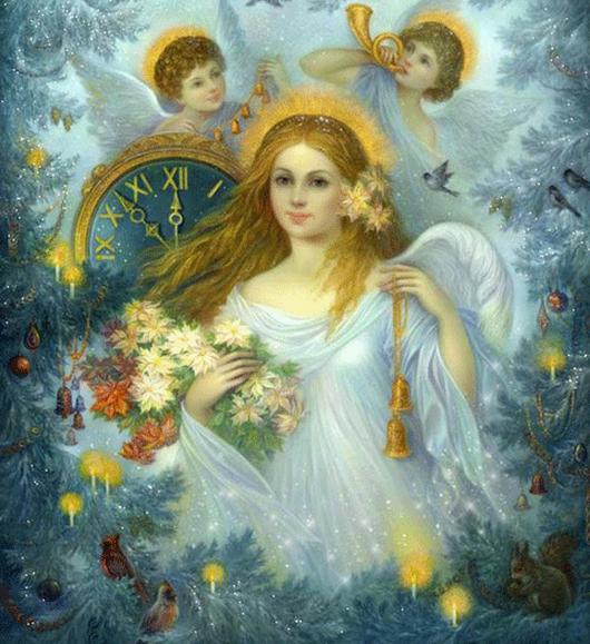 Часы Ангела на март