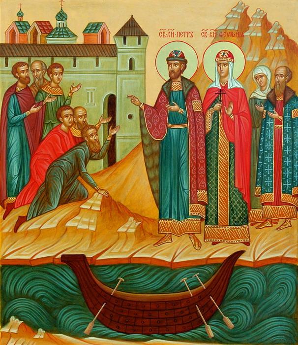 Славянский день влюбленных: День Петра и Февронии