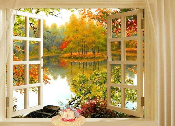 Вид из окна по фэн-шуй