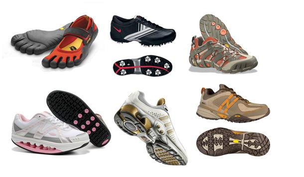 Обувь-качалка на круглой подошве