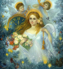 Часы помощи  Ангела в октябре