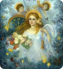 Часы Ангела на июль 2014