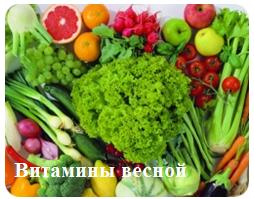 Какие витамины принимать весной